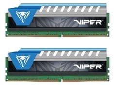 Patriot pomnilnik (RAM) 32GB (2x 16GB) DDR4 2666 MHz 1.2V CL 16 Viper Elite Blue, kit (PVE432G266C6KBL)