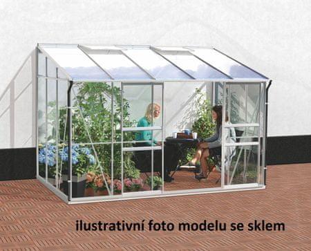 VITAVIA skleník VITAVIA IDA 6500 PC 6 mm strieborný