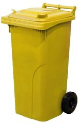 M.A.T Group zabojnik za odpadke 240l PH, rumen