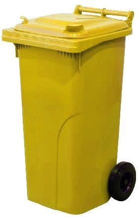 M.A.T Group Nádoba na odpadky 240l PH, žltá