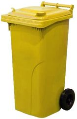 M.A.T Group zabojnik za odpadke 120l PH, rumen