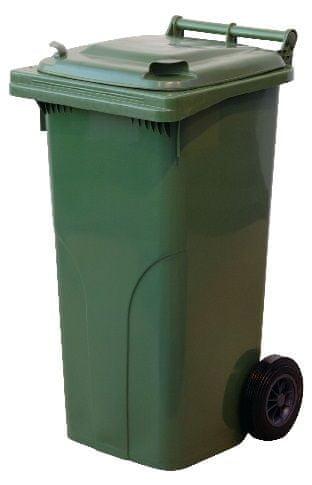 M.A.T. Group Nádoba na odpadky 120l PH, zelená