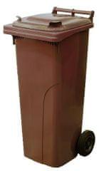 M.A.T Group kosz na odpady 120l PH, brązowy