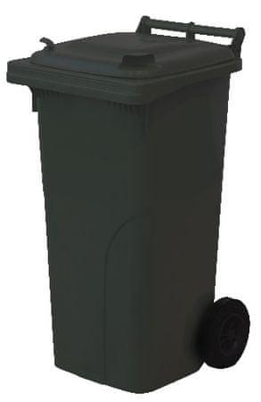 M.A.T Group kosz na odpady 120l PH, czarny