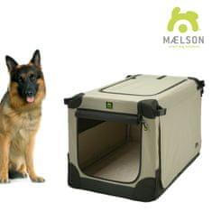 Maelson transportni zaboj Soft Kennel črno/bež