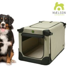 Maelson Prepravka Soft Kennel čierna / béžová
