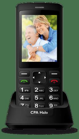 CPA Telefon komórkowy Halo PLUS, czarny
