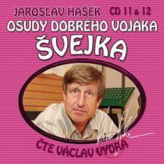 Hašek Jaroslav: Osudy dobrého vojáka Švejka (11 & 12) - KNP-2CD