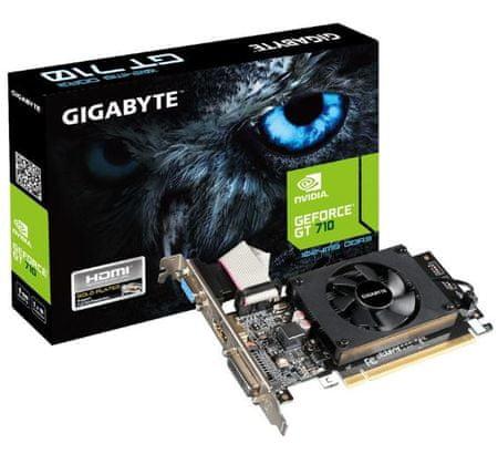 Gigabyte grafična kartica GeForce GT 710 1GB LP