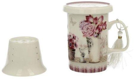 Marex Trade čajna skodelica s pokrovom