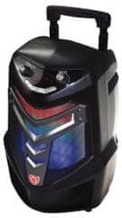 Manta prenosni zvočni sistem za karaoke SPK1002 BLACKOUT