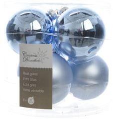 Kaemingk Božični okraski bunke 6 kosov, svetlo modra