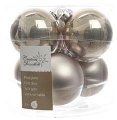 Kaemingk Božični okraski bunke 6 kosov, biserno srebrna