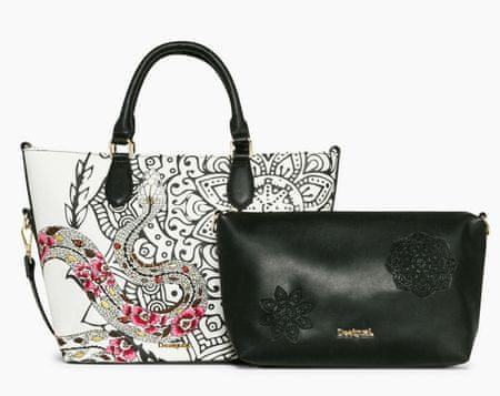 Desigual ženska ročna torbica bela Florida Ava