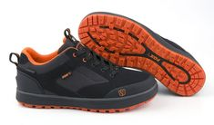 FOX Topánky Black Orange Shoe