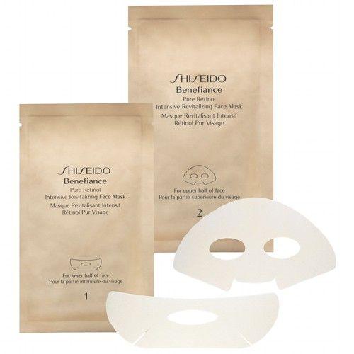 Shiseido Intenzivní revitalizační maska na obličej Benefiance (Pure Retinol Intensive Revitalizing Face Mask)