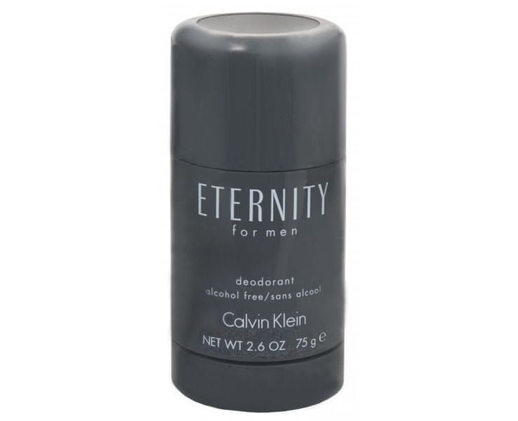 Calvin Klein Eternity For Men - tuhý deodorant 75 ml