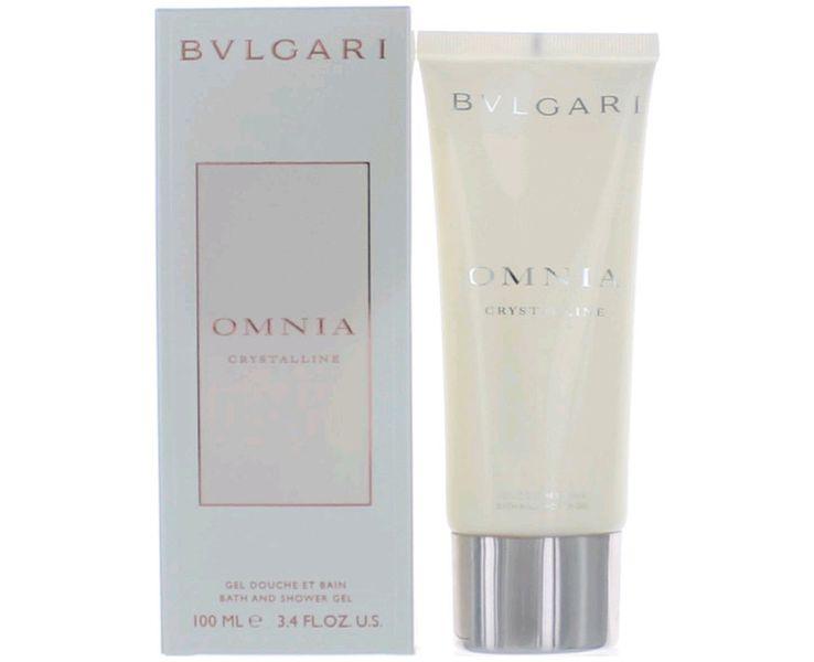 Bvlgari Omnia Crystalline - koupelový a sprchový gel 100 ml