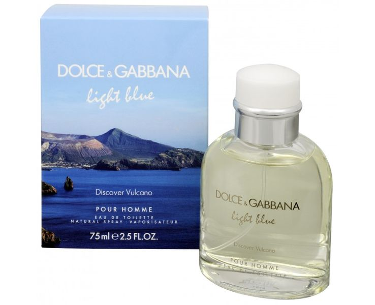 Dolce & Gabbana Light Blue Discover Vulcano - EDT 75 ml