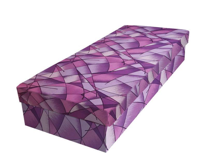 Válenda JUNIOR 80x195 cm, fialová látka