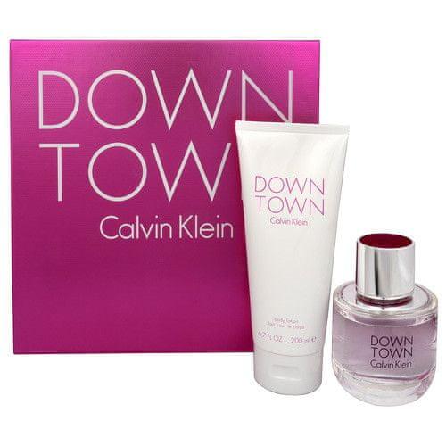 Calvin Klein Downtown - EDP 90 ml + tělový krém 200 ml