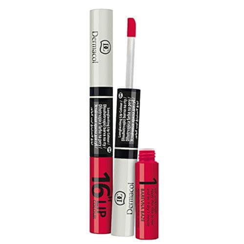 Dermacol Dlouhotrvající barva na rty a lesk 2v1 16h Lip Colour (Odstín č.13 )