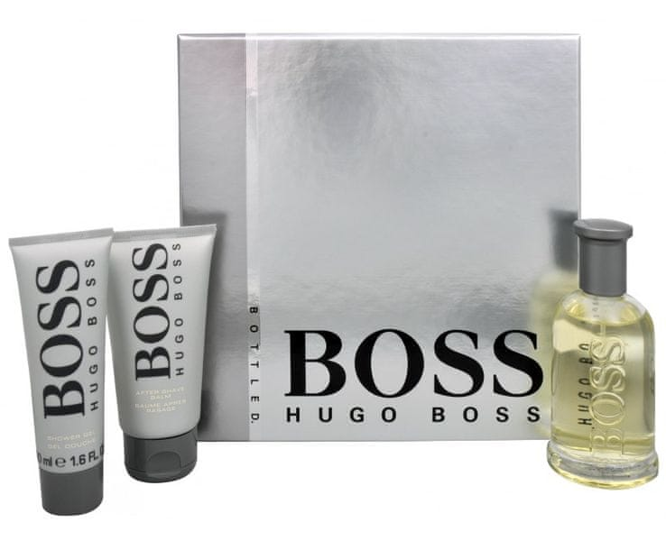 Hugo Boss Boss No. 6 - EDT 100 ml + balzám po holení 75 ml + sprchový gel 50 ml