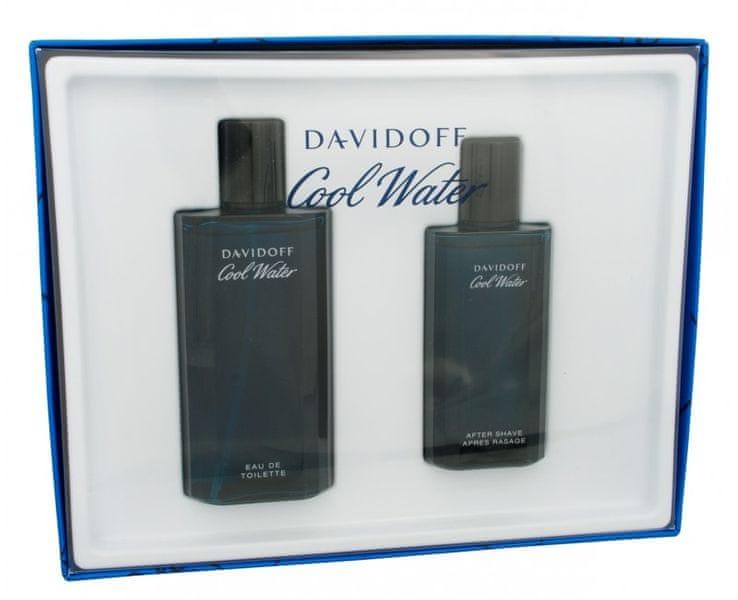 Davidoff Cool Water Man - EDT 125 ml + voda po holení 75 ml
