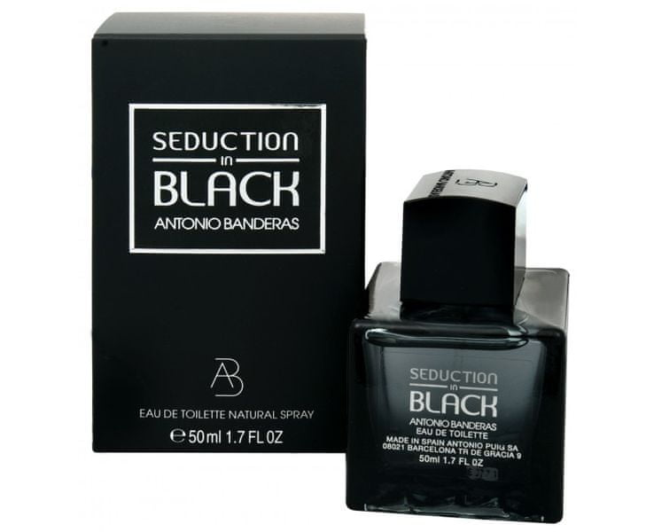 Antonio Banderas Seduction In Black - EDT 100 ml