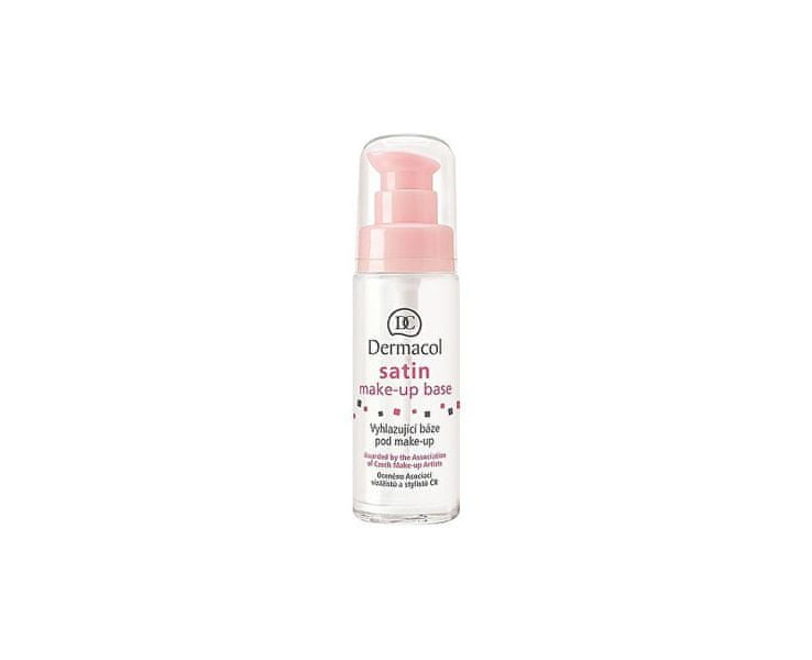 Dermacol Vyhlazující báze pod make-up (Satin Make-up Base) (Objem 30 ml)