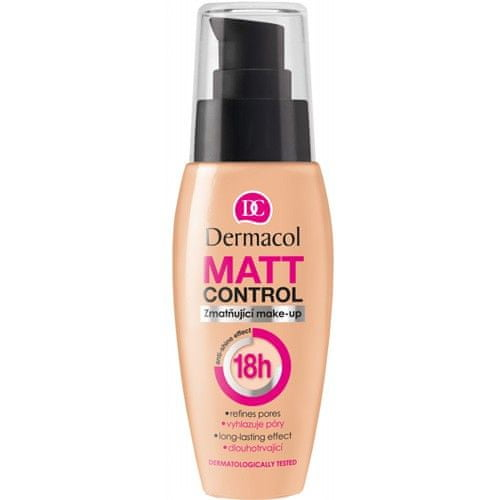 Dermacol Zmatňující make-up Matt Control 18h 30 ml (Odstín č. 1)