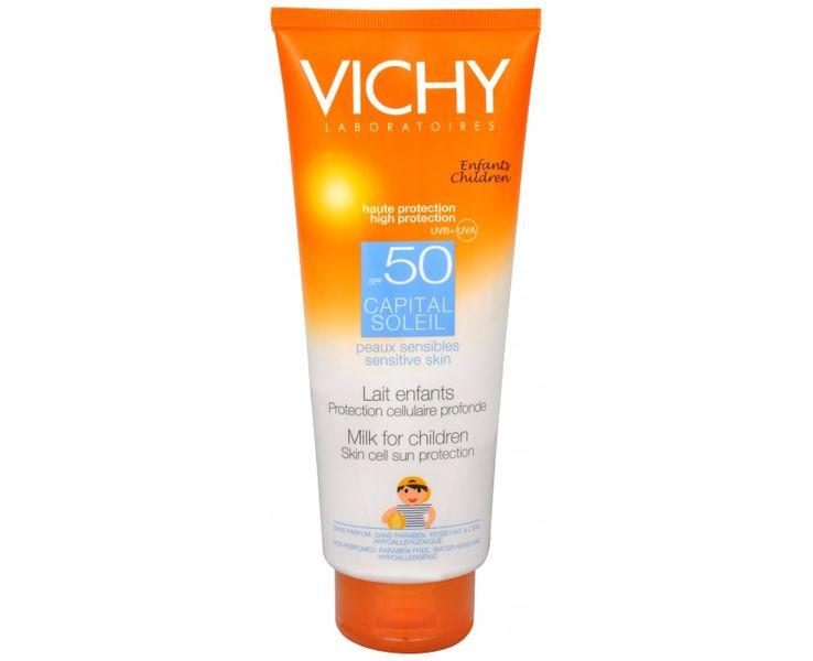 Vichy Opalovací mléko pro děti SPF 50 Capital Soleil 300 ml