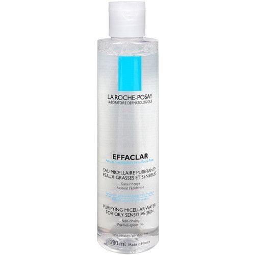 La Roche - Posay Odličovací čisticí micelární voda Effaclar (Purifying Micellar Water) (Objem 400 ml)
