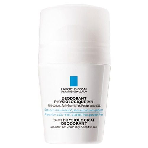 La Roche - Posay Fyziologický deodorant roll-on 24H (24HR Physiological Deodorant) 50 ml