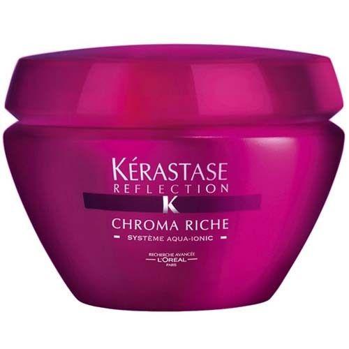 Kérastase Ochranná maska na barvené a zesvětlované vlasy Chroma Riche Systéme Aqua-Ionic (Luminous Softening T