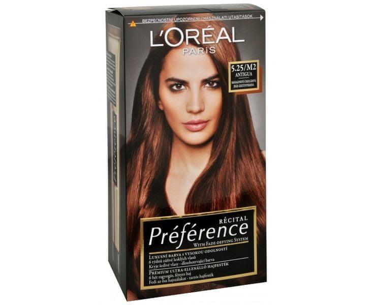 L'Oréal Barva na vlasy Récital Préférence (Odstín 4.15/M1 Caracas)