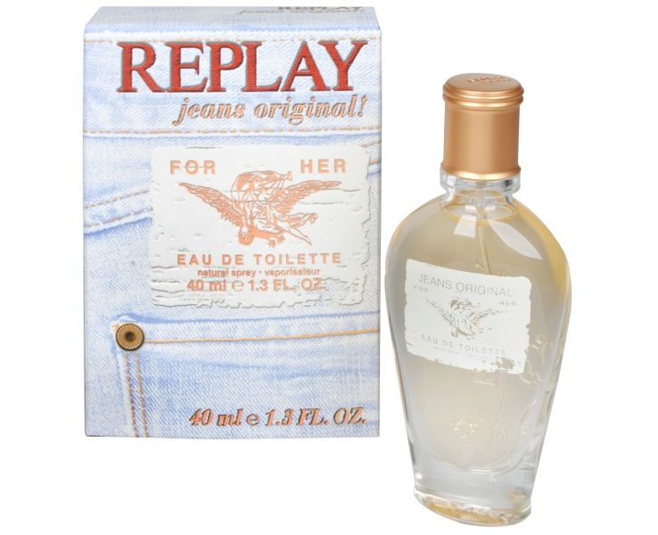 Replay Replay Jeans Original For Her - EDT 40 ml