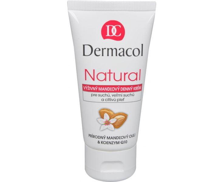 Dermacol Výživný mandlový denní krém Natural - tuba 50 ml