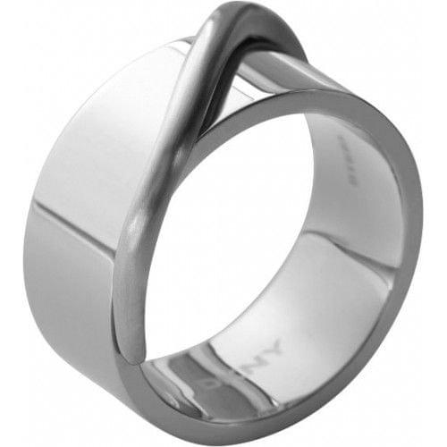 DKNY Masívní ocelový prsten NJ1860040 (Obvod 59 mm)