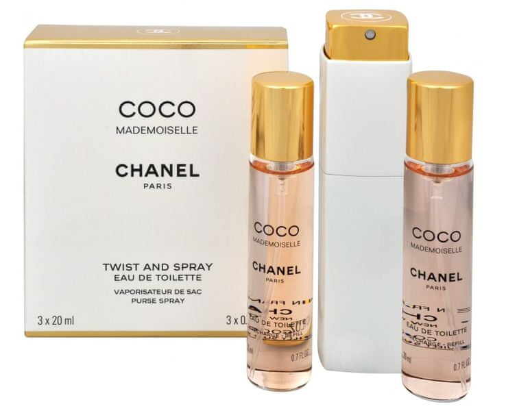Chanel Coco Mademoiselle - EDT (3 x 20 ml) 60 ml