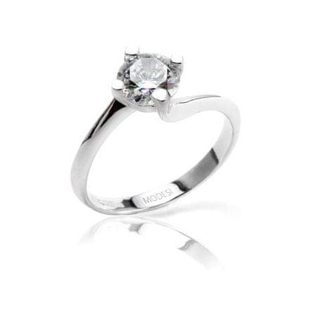 Modesi Zásnubný prsteň QJR2076L (Obvod 50 mm)
