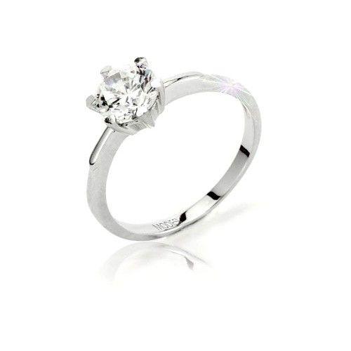 Modesi Zásnubní prsten Q13376-1L (Obvod 51 mm) stříbro 925/1000