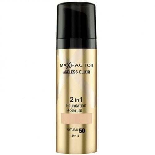 Max Factor Make-up a sérum 2 v 1 Ageless Elixir 30 ml (Odstín 50 Natural)
