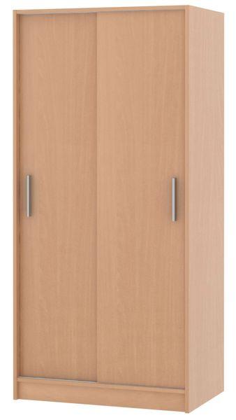 Skříň s posuvnými dveřmi SMART 01, buk