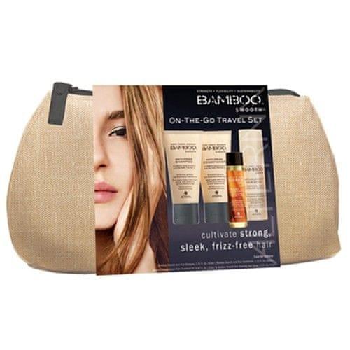 Alterna Cestovní set proti krepatění vlasů Bamboo Smooth (On-The-Go Travel Set)