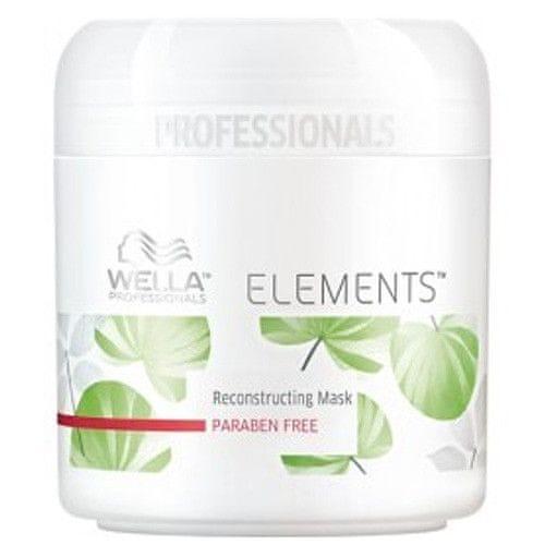 Wella Professional Vyživující hydratační maska na vlasy Elements (Renewing Mask) (Objem 150 ml)