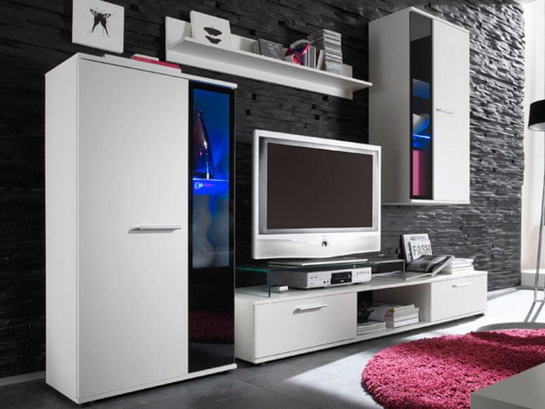 Obývací stěna SALSA, bílá