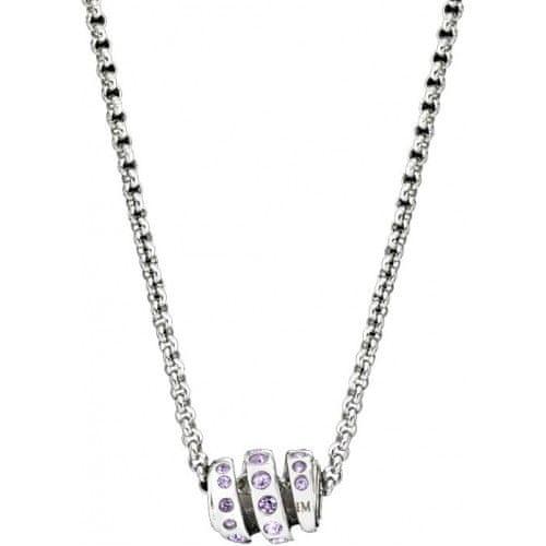 Morellato Ocelový náhrdelník Drops Crystal Spiral SCZ253