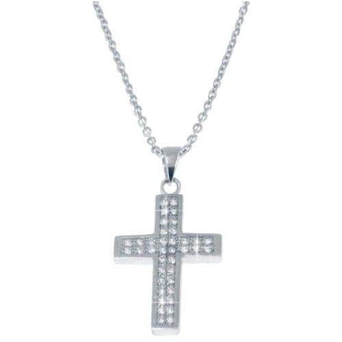 Beneto Náhrdelník s křížkem AGS07/45 stříbro 925/1000