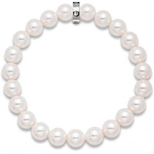 Oliver Weber Náramek Shiny White Pearl 5318-650